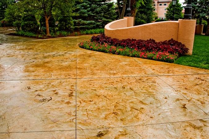 Castcrete stone